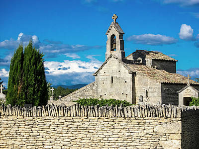 Provence Photograph - France, Provence, Saint Pantaleon by Terry Eggers