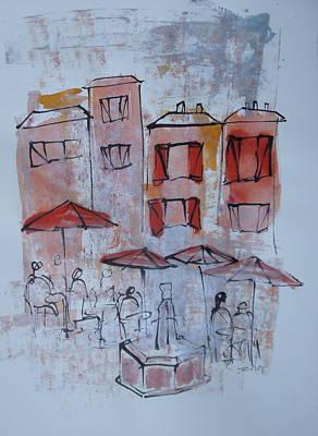 France Art Print by Sonja  Zeltner
