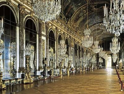 France. Versailles. Palace Art Print by Everett