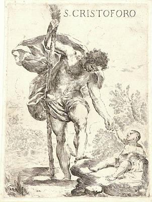 Genoa Drawing - Francesco Amato Italian, Genoa by Litz Collection