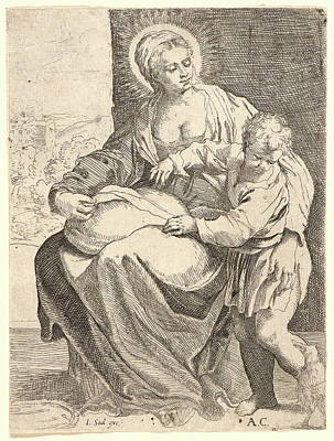 Francesco Brizio Italian, Ca. 1574-1623 After Annibale Art Print