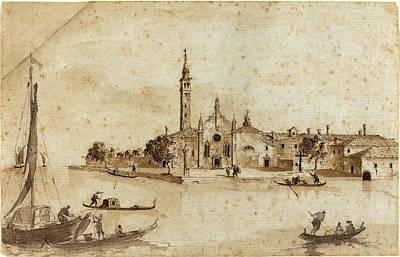 Francesco Guardi Drawing - Francesco Guardi And Giacomo Guardi Italian by Quint Lox
