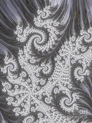 Kaleidoscope Digital Art - Franciful Frost  by Heidi Smith