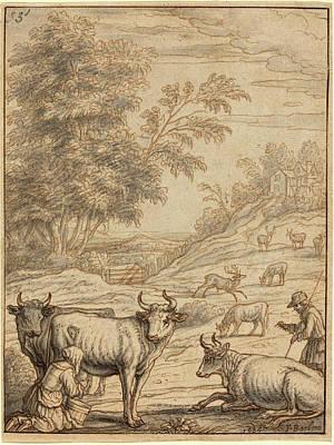 Francis Barlow English, 1626 - 1702 Or 1704 Art Print