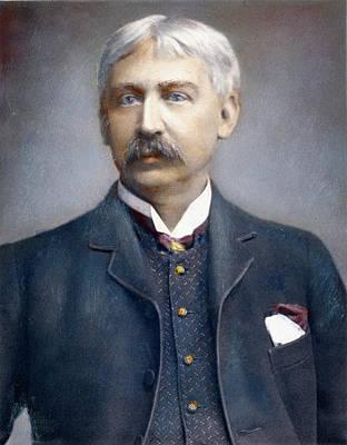 Francis Brett Harte (1836-1902) Art Print by Granger