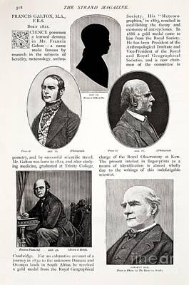 Francis Galton Photograph - Francis Galton, English Polymath by Paul D. Stewart