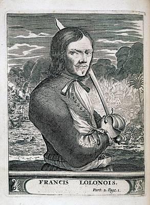 Francis L'ollonais Print by British Library