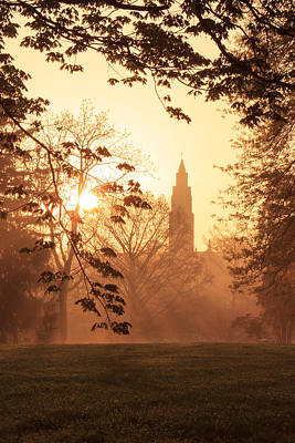 Photograph - Francis Park Foggy Sunrise by Scott Rackers
