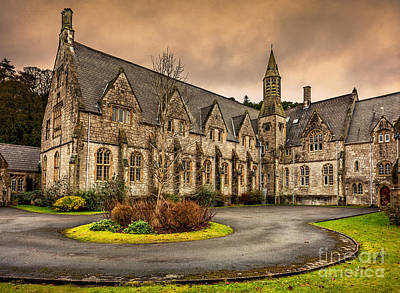January Digital Art - Franciscan Friary by Adrian Evans