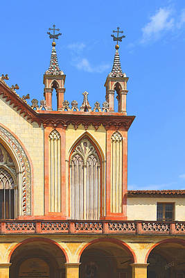 Photograph - Franciscan Monastery In Nice France by Ben and Raisa Gertsberg
