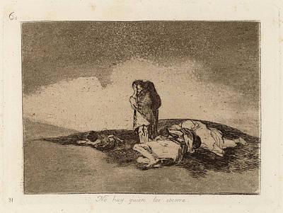 Nobody Drawing - Francisco De Goya, No Hay Quien Los Socorra Nobody Can Help by Quint Lox