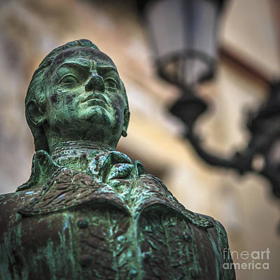 Photograph - Francisco De Miranda Statue Cadiz Spain by Pablo Avanzini