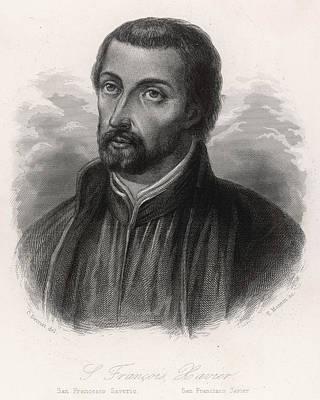 Francisco Javier (xavier)  Spanish Art Print