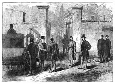 Imprisonment Painting - Francois Achille Bazaine (1811-1888) by Granger