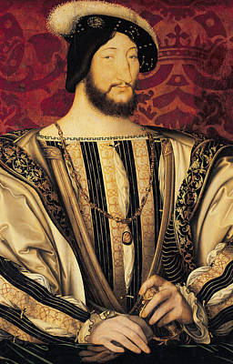 Louvre Painting - Francois I by Jean Clouet