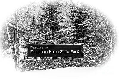Photograph - Franconia Notch State Park by Glenn Gordon