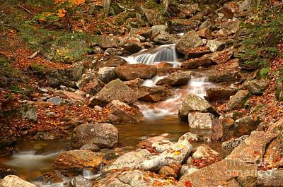 Photograph - Franconia Notch Streams by Adam Jewell