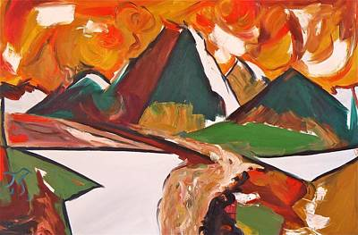 Frank Church River Of No Return Art Print by Troy Thomas