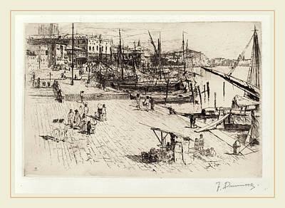 Frank Duveneck, Riva Degli Schiavoni 2 Print by Litz Collection