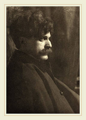 Eugene Drawing - Frank Eugene, Alfred Stieglitz, German, 1865-1936 by Litz Collection