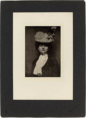 Eugene Drawing - Frank Eugene, Portrait Of Miss Jones, German by Quint Lox