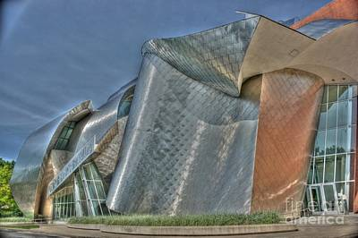 Photograph - Frank Gehry At Case Western U by David Bearden