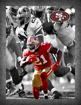 Frank Gore 49ers Art Print by Joe Hamilton