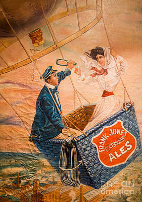 Hot Air Balloon Photograph - Frank Jones Portsmouth Ales by Edward Fielding