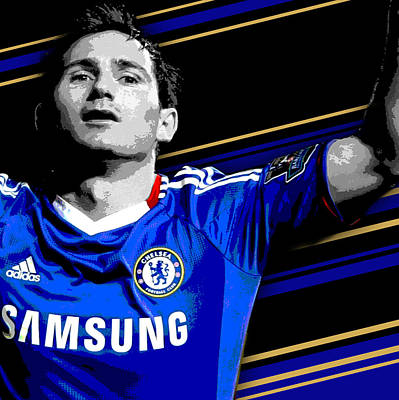 Oscars Wall Art - Photograph - Frank Lampard Chelsea Print by Pro Prints
