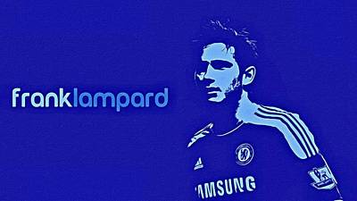 Painting - Frank Lampard Poster Art by Florian Rodarte