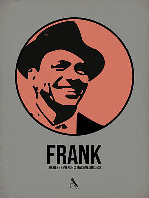 Frank Sinatra Digital Art - Frank Poster 1 by Naxart Studio