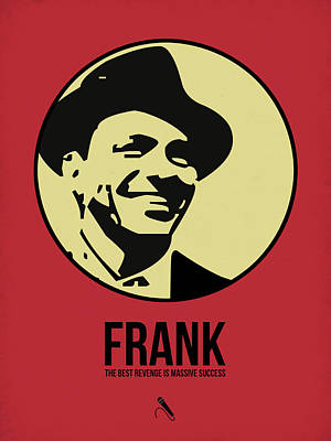 Frank Sinatra Digital Art - Frank Poster 2 by Naxart Studio