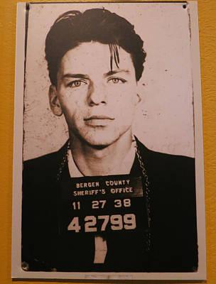 Photograph - Frank Sinatra 1938 by Patricia Januszkiewicz