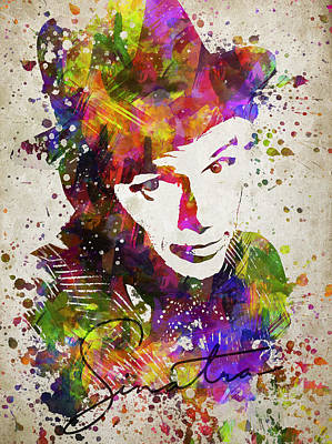 Famous People Digital Art - Frank Sinatra In Color by Aged Pixel