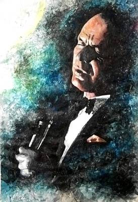 Swing Painting - Frank Sinatra by Marcelo Neira