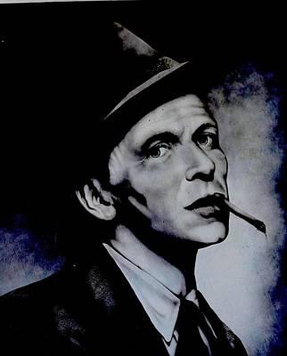 Frank Sinatra Mural Original by Steven Parker
