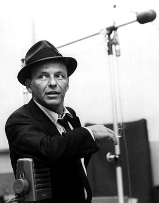 Las Vegas Photograph - Frank Sinatra by Retro Images Archive