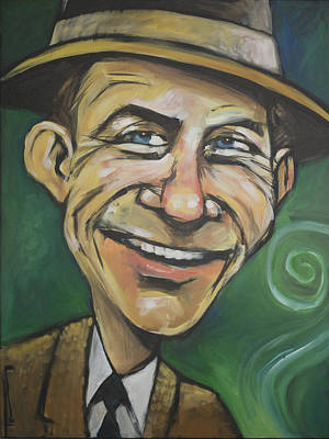 Martini Paintings - Frank Sinatra by Tim Nyberg