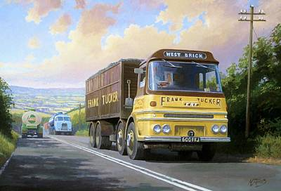 Frank Tucker's Erf. Art Print by Mike  Jeffries