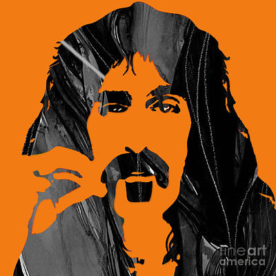 Singer Mixed Media - Frank Zappa Collection by Marvin Blaine
