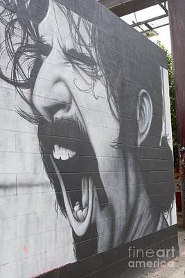 Photograph - Frank Zappa Mural by Lne Kirkes