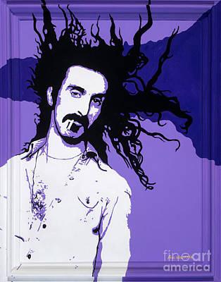 Frank Zappa Painting - Frank Zappa by Paul Wolff
