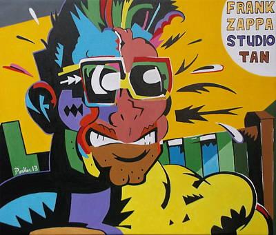 Frank Zappa Painting - Frank Zappa's Sudio Tan by Don Parker