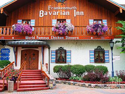 Michigan Frankenmuth Photograph - Frankenmuth Bavarian Inn by Jack Schultz