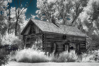 Frankenmuth Cabin Art Print by Jeff Holbrook