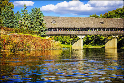 Photograph - Frankenmuth Covered Bridge by LeeAnn McLaneGoetz McLaneGoetzStudioLLCcom