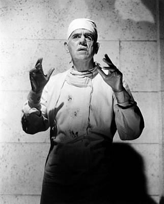 1958 Movies Photograph - Frankenstein 1970, Boris Karloff, 1958 by Everett