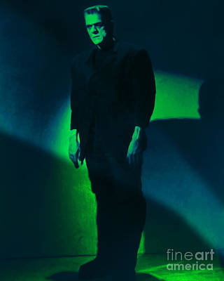 Haunted Digital Art - Frankenstein 20130218 by Wingsdomain Art and Photography
