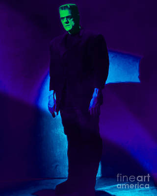 Haunted Digital Art - Frankenstein 20130218p68 by Wingsdomain Art and Photography