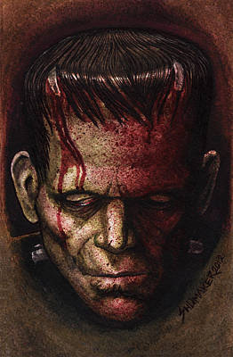 Prison Mixed Media - Frankenstein  by David Shumate